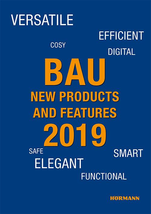 Новости на изложението BAU 2011 - нововъведения при гаражни врати